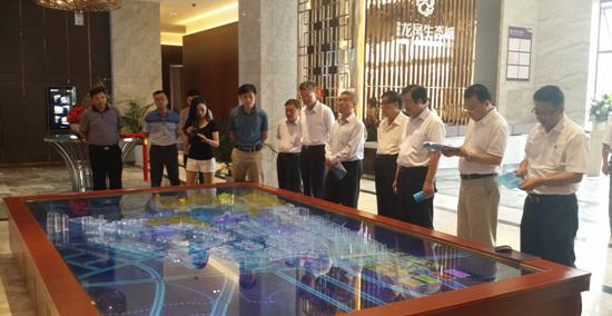 在京部分湖北省全国人大代表到中国•硒谷调研